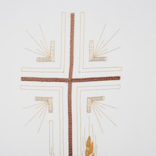 Coprileggio croce sottile spighe vari colori 2