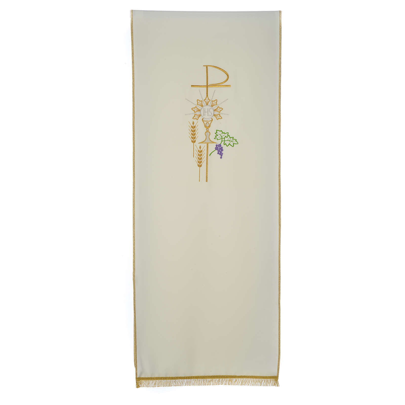 Pulpit cover with eucharistic symbols 4