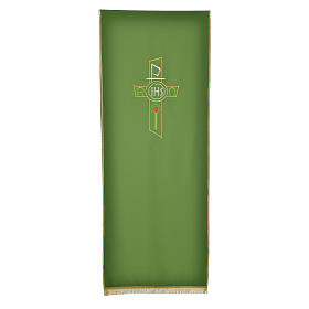 Lectern Cover in polyester, cross, Chi Rho, IHS, Alpha Omega s5
