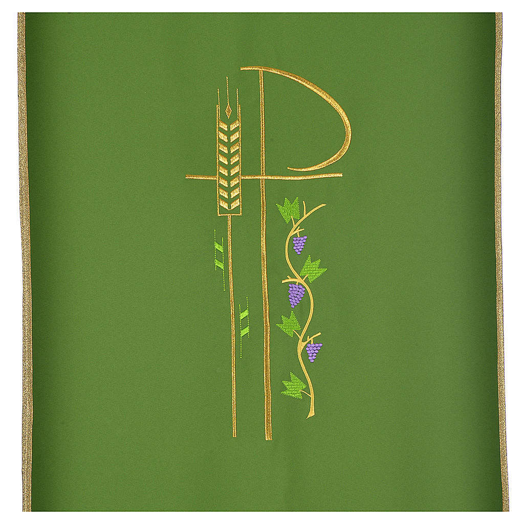 Lectern cover with eucharistic symbols 4