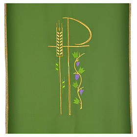 Lectern cover with eucharistic symbols s12