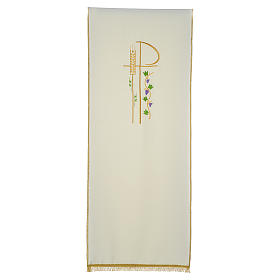 Lectern cover with eucharistic symbols s3