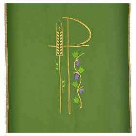 Lectern cover with eucharistic symbols s6