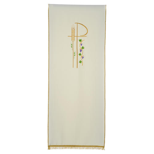 Lectern cover with eucharistic symbols 9