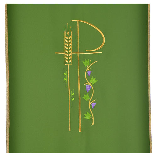 Lectern cover with eucharistic symbols 12
