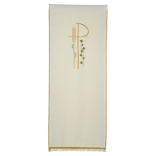 Lectern cover with eucharistic symbols 3