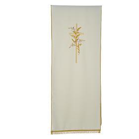 Voile de lutrin croix épis en tissu de polyester s3