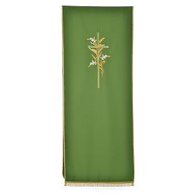 Voile de lutrin croix épis en tissu de polyester s5