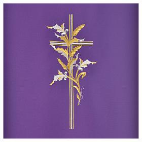 Voile de lutrin croix épis en tissu de polyester s6