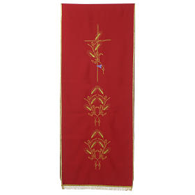 Lectern Cover in polyester, cross, ears of wheat s3