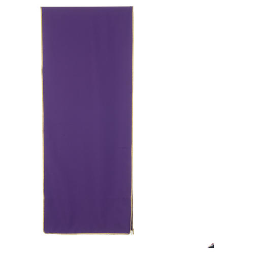Lectern Cover in polyester, cross, flames, ears of wheat 7