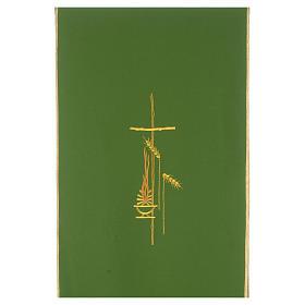 Voile de lutrin croix, flamme et épis 100% polyester s3