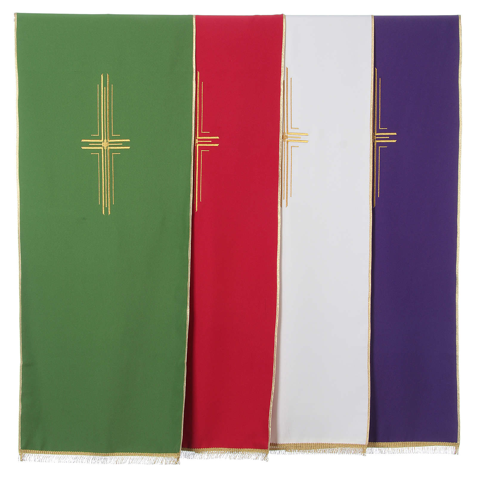 Lectern Cover in polyester with stylized cross 4
