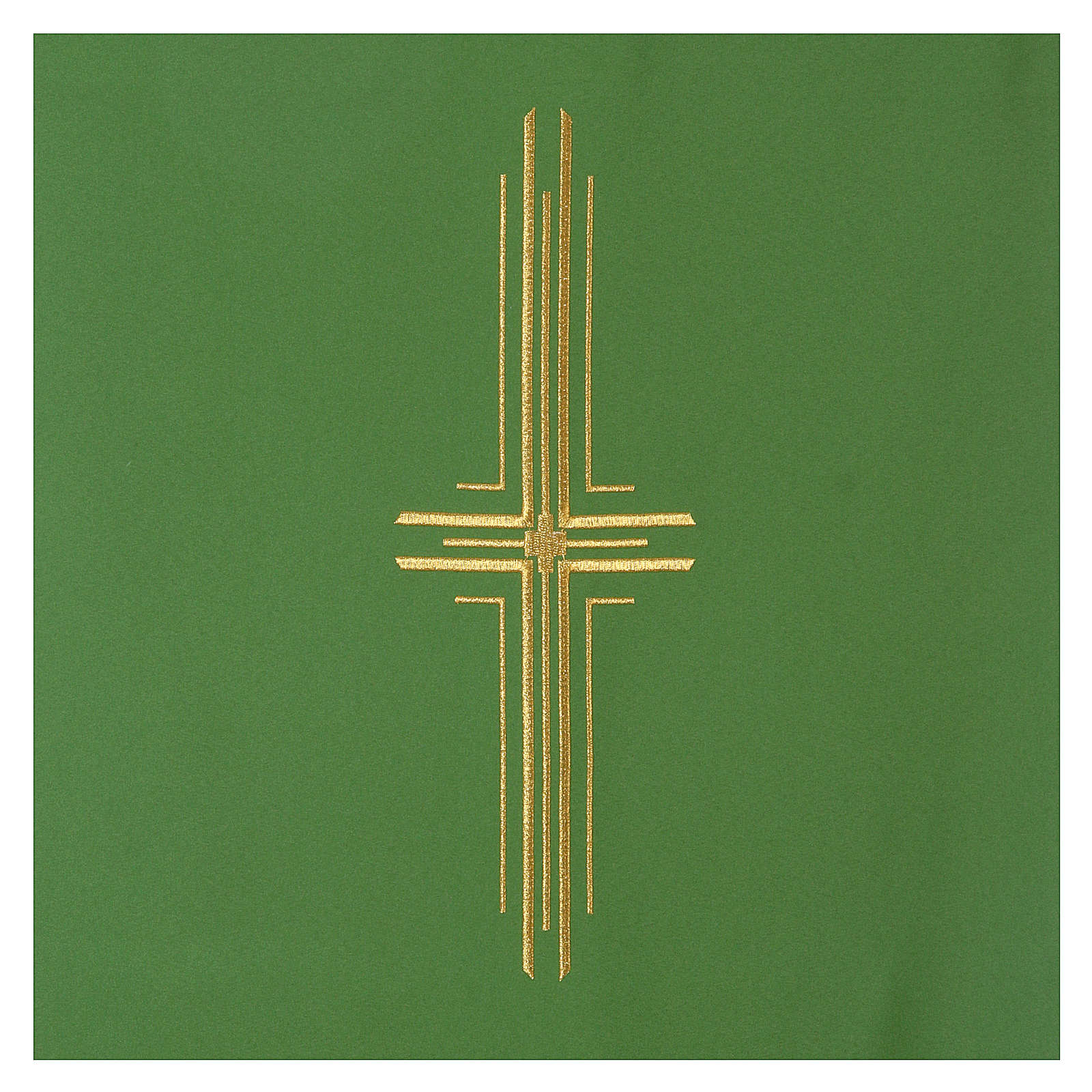 Cubre atril 100% Poliéster cruz estilizada 4