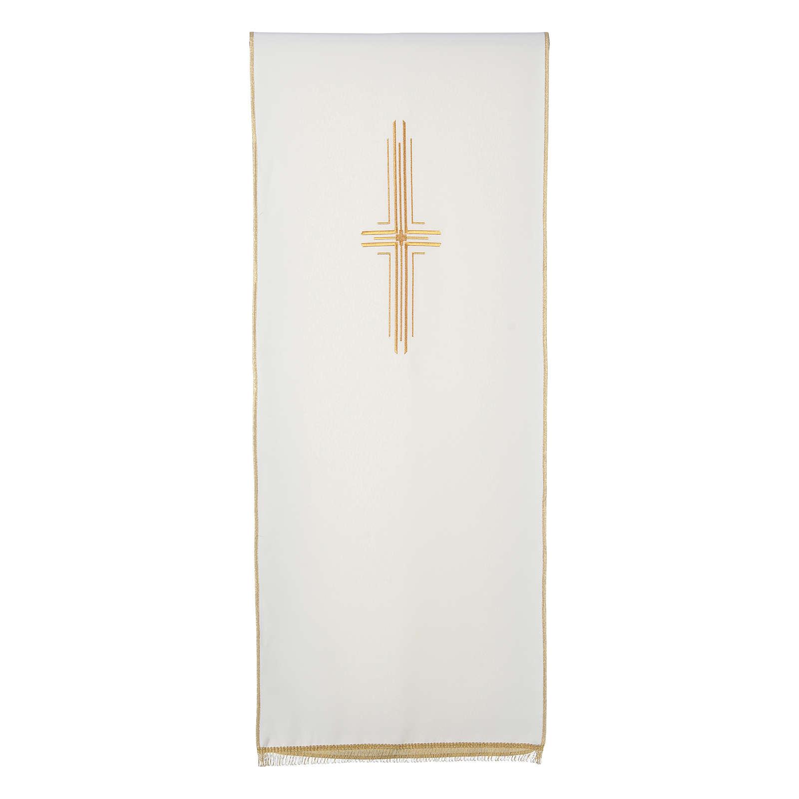 Voile de lutrin croix stylisée 100% polyester 4