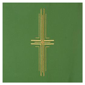 Voile de lutrin croix stylisée 100% polyester s6