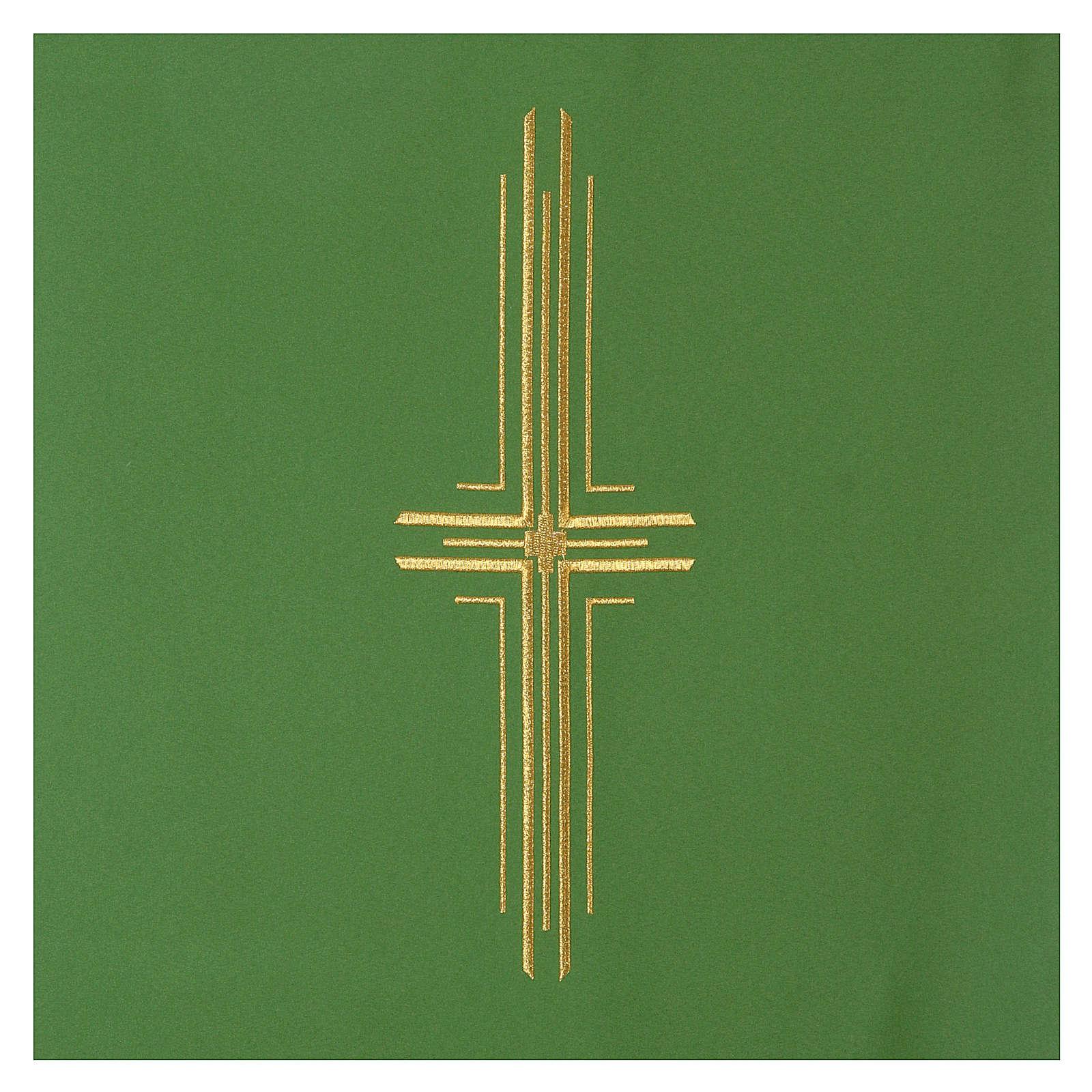 Coprileggio 100% poliestere croce stilizzata 4