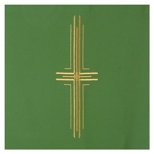 Coprileggio 100% poliestere croce stilizzata 6