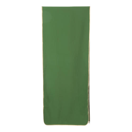 Stylized cross pulpit cover, polyester 7