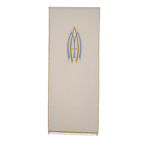 Marian pulpit cover, 100% polyester 1