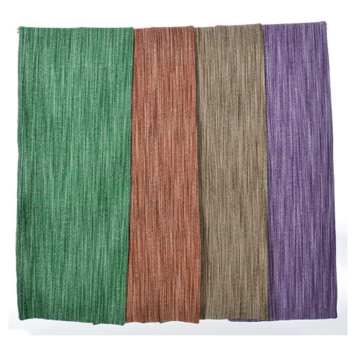 Franciscan lectern cover 65% silk, 35% viscose 1