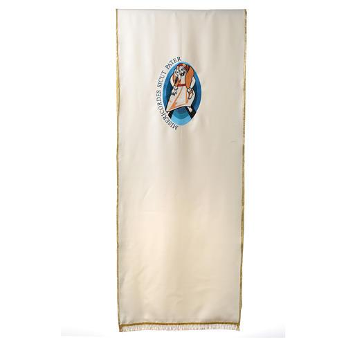 STOCK Voile de lutrin Jubilé de la Miséricorde Pape François 1