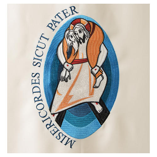 STOCK Voile de lutrin Jubilé de la Miséricorde Pape François 2