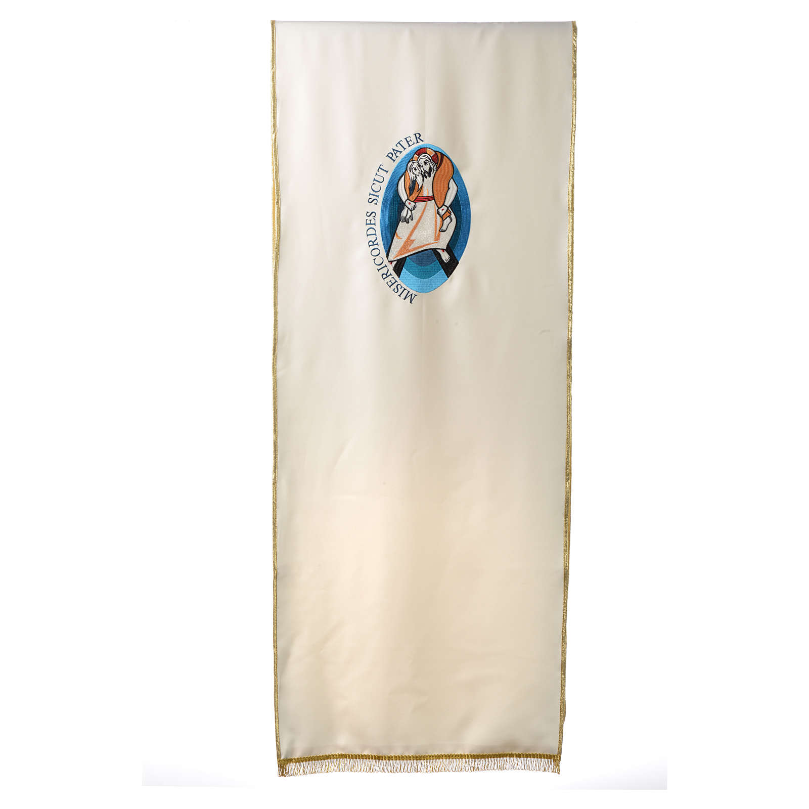 STOCK Jubilee lectern cover, Pope Francis, Latin writing 4