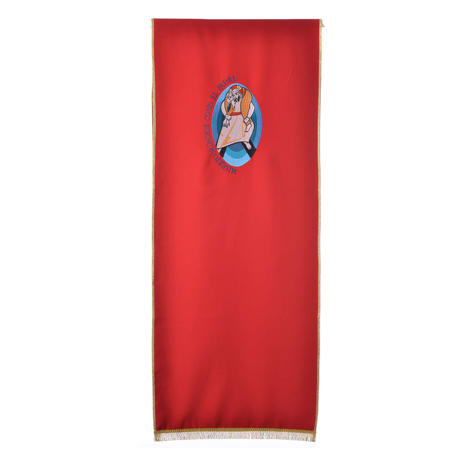 STOCK Jubilee lectern cover with SPANISH writing 4