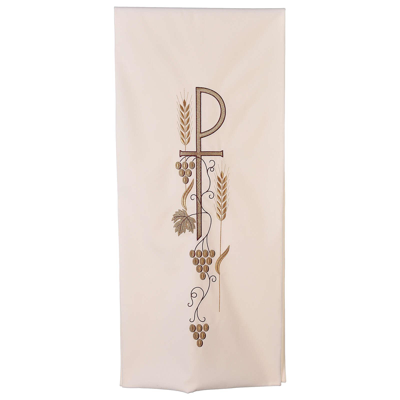 Coprileggio spighe foglia uva simbolo P 4