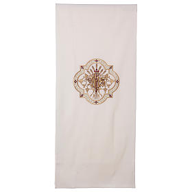 Lectern cover gold and red embroideries s1