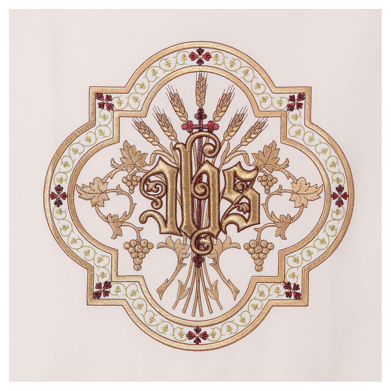 Pulpit cover gold and red embroideries 4