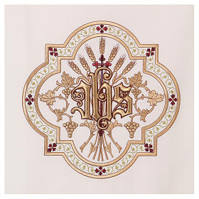 Pulpit cover gold and red embroideries s2