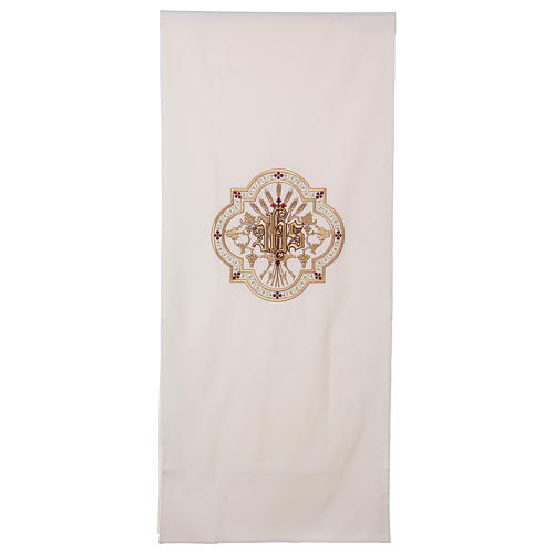 Pulpit cover gold and red embroideries 1