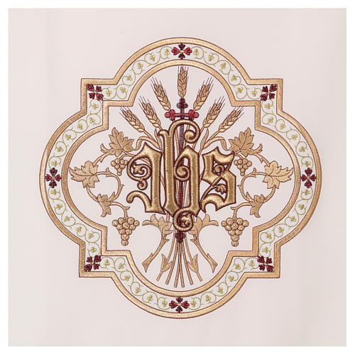 Pulpit cover gold and red embroideries 2