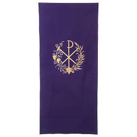 Lectern cover vine branch, grapes and PAX symbol s1