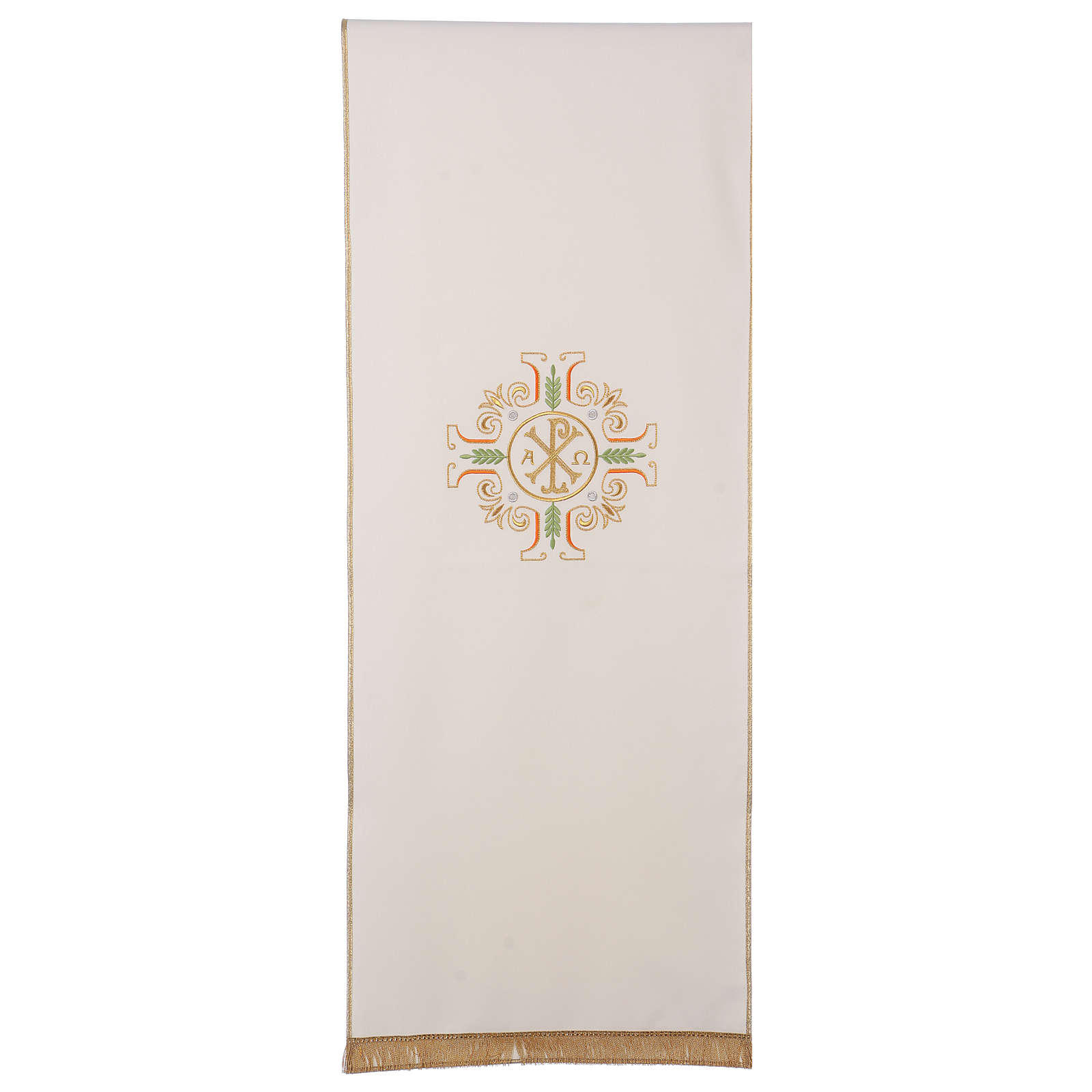 Lectern Cover with cross, PAX, Alpha and Omega symbols 4