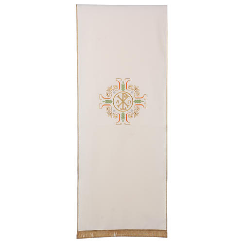 Lectern Cover with cross, PAX, Alpha and Omega symbols 1