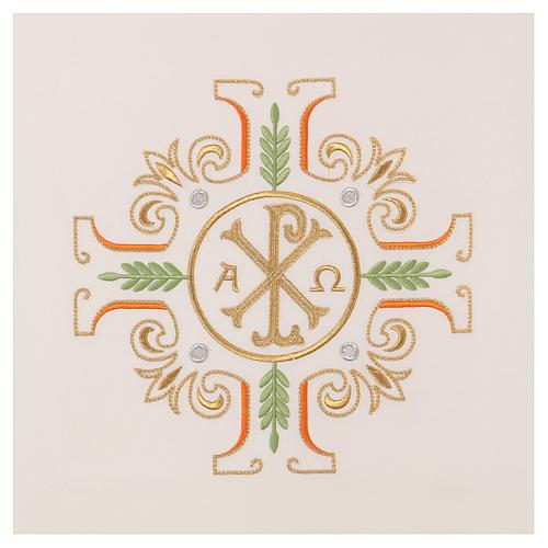 Coprileggio croce simbolo PAX Alfa e Omega 2