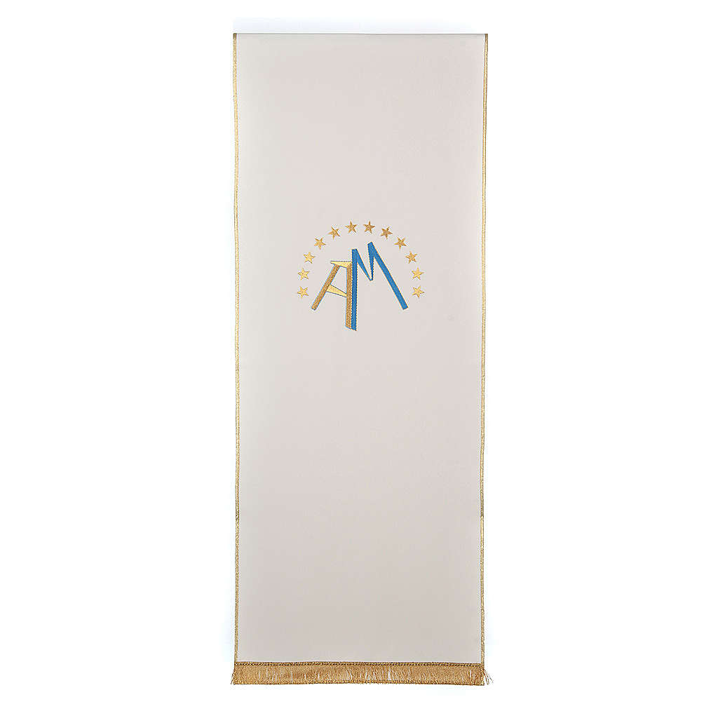 Marian pulpit cover, 4 liturgical colors 4