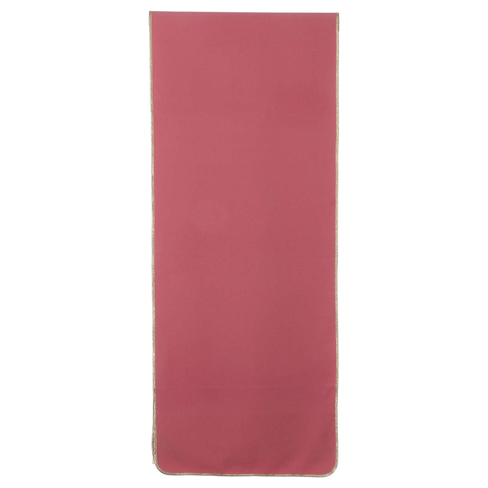Paño de atril rosa 100% poliéster XP espiga uva 4