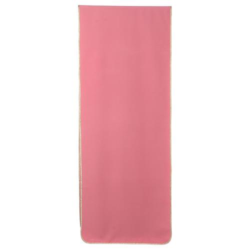 Coprileggio rosa 100% poliestere XP calice ostia spiga 3