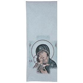 Coprileggio Madonna della Tenerezza sfondo azzurro s3