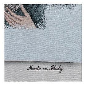 Coprileggio Madonna della Tenerezza sfondo azzurro s4