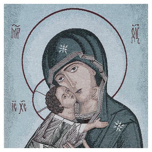 Coprileggio Madonna della Tenerezza sfondo azzurro 2
