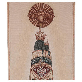 Ivory embroidered pulpit cover of Our Lady of Loreto s2
