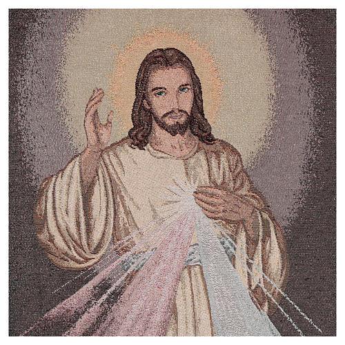 Coprileggio Gesù misericordioso color azzurro 2