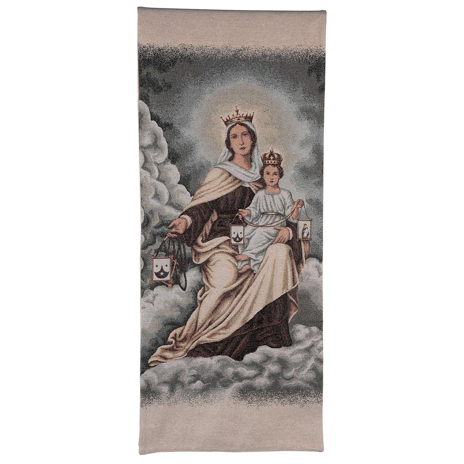 Coprileggio Madonna del Carmelo color avorio 4