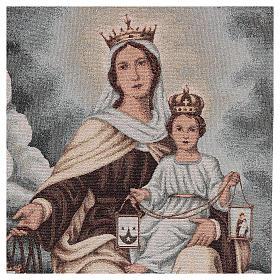 Coprileggio Madonna del Carmelo color avorio s2