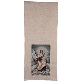 Coprileggio Madonna del Carmelo color avorio s3
